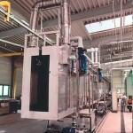 Химическое струйное обезжиривание, макс. величина изделия 4000х1500 мм. Моечная станция.